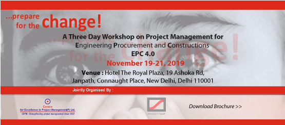 Project Management for EPC"