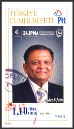 Adesh Jain Postal Stamp